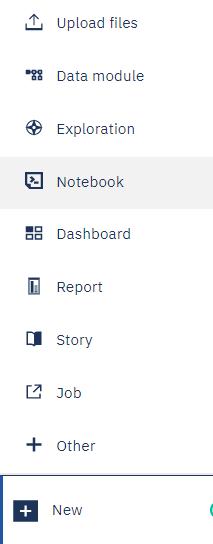 Integration between IBM Cognos Analytics and Jupyter Notebook